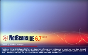 NetBeans IDE 6.7 RC2 (Click to enlarge)
