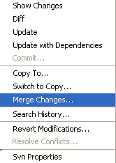 Merge Changes.. (Click to enlarge)