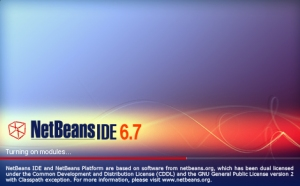 NetBeans IDE 6.7 (Click to enlarge)